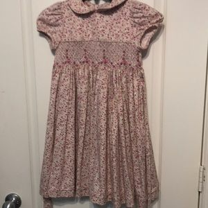 smocked dress, size 4, from Neiman Marcus